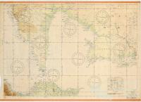 Japanese map of northern Australia and New Guinea, 1942