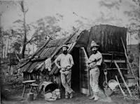 Queensland miner in conical hat, 1870