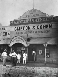 Croydon Mining Exchange, c1895