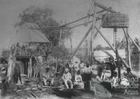 Workers and their families, Mount Craven Mines Eidsvold, 1889