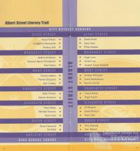 Albert Street Literary Trail, 2004