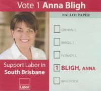 Anna Bligh, 2012