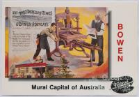 "Mural ""Newspaper Industry"", Bowen"