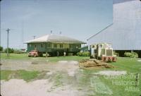 Moving the laboratory at the Pioneer Sugar Mill, Brandon, 1965