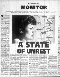 A State of unrest, 1998