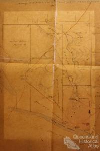 Native Police Camp, Rockhampton, 1861