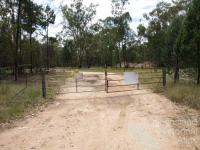 Lock the gate, Queensland, 2012