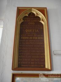 Quetta Memorial Church, Thursday Island, 2009