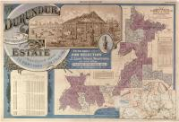 Durundur Estate Map (Durundur and Holmwood), 1902