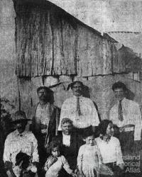 The Williams family, Berajondo, c1920s