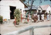 Attending church, Torres Strait, 1958
