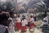 Religious ceremony, Torres Strait, 1958