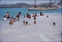 Swimming, Thursday Island, 1958