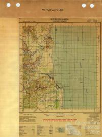 Maroochydore military map, 1942