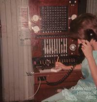 Manual telephone exchange, Talwood, 1965