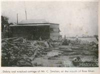 Scenes after the Townsville cyclone, 1940