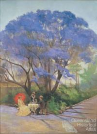Under the jacaranda, 1903