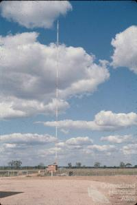 Emerald radio mast for station 4QD, 1960s