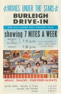 Burleigh Drive-in, 1967