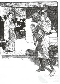 A Japanese prostitute and an Aboriginal woman, The Bulletin, 1904