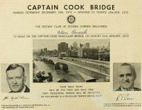 Walk on the Captain Cook Bridge, 1973