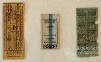 Tram tickets, various