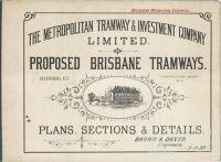 Proposed Brisbane tramways, 1887