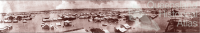 Flood panorama, Rockhampton, 1918