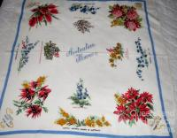 Australian flowers tablecloth