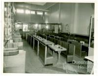 Interior to be remodeled, Londys café, Toowoomba, 1962