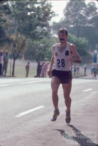 Robert de Castella, Commonwealth Games marathon, St Lucia, 1982