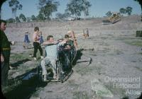 Archery, Fourth Australian 'Paraplegic Games', Carina, 1966