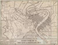 Slater's pocket map of Brisbane, 1865