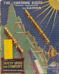 The Sunshine Route through Queensland to Cairns, 1936