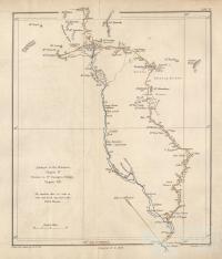 Mitchell's advance to the Maranoa, return to St George's Bridge, 1848