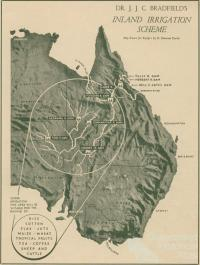 Bradfield's inland irrigation scheme, Walkabout, January 1947