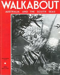Walkabout cover, December 1934