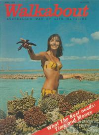 Walkabout cover, April 1970