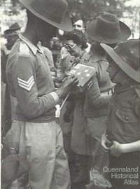Indian soldier, Brisbane 1944