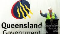 Premier Peter Beattie and the Queensland Government logo, c2000