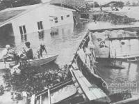 Flood in Yeronga, Brisbane, 1974