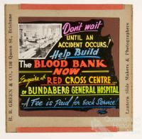 Blood Bank advertisement, Bundaberg