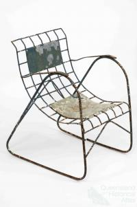 Chair made by prisoner-of-war, 1942-45