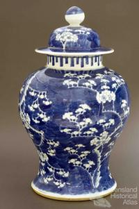 Chinese ginger jar