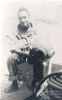Seaman Dan from Thursday Island, 1956