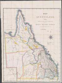 Recently discovered goldfields, 1874