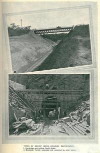 Queensland railway relief works, 1931