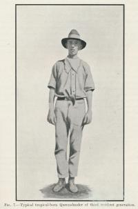 Typical tropical-born Queenslander, 1925