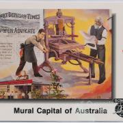"Mural ""Newspaper Industry"", Bowen"