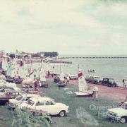 Humpybong yacht club, Woody Point, 1970